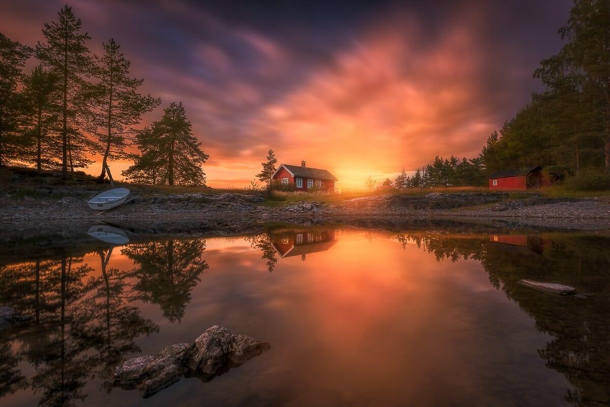 casa vermellha noruega 9
