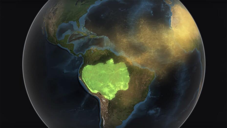 deserto do saara amazônia 1
