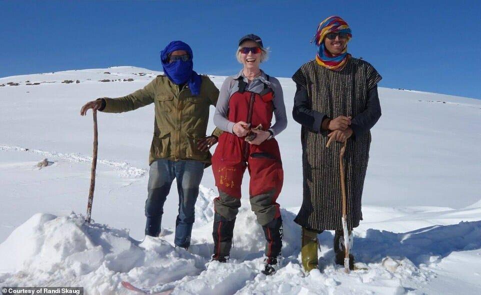 esquiadora desafio Irã 1