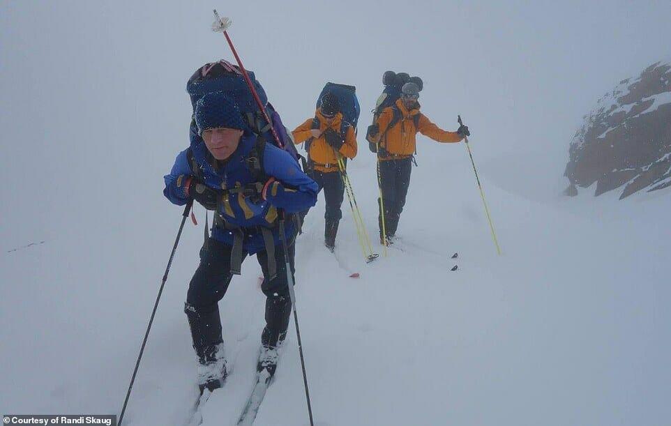 esquiadora desafio Irã 10