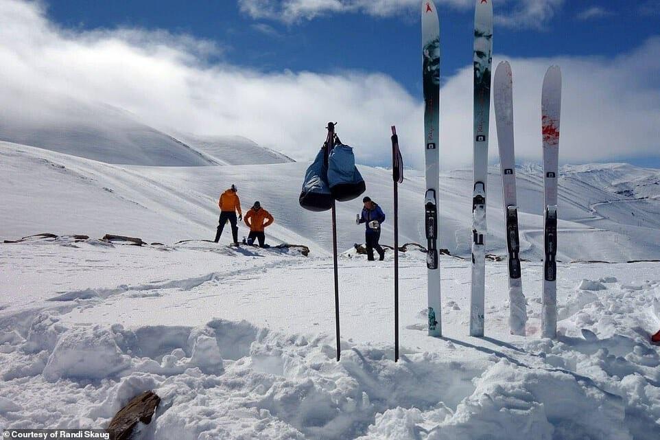 esquiadora desafio Irã 11