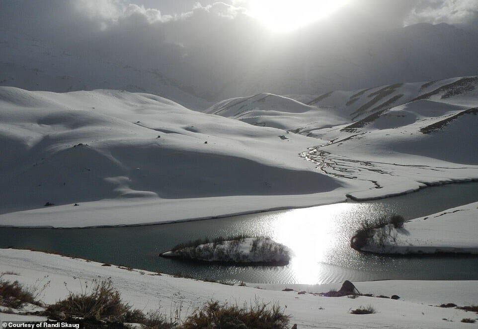 esquiadora desafio Irã 2