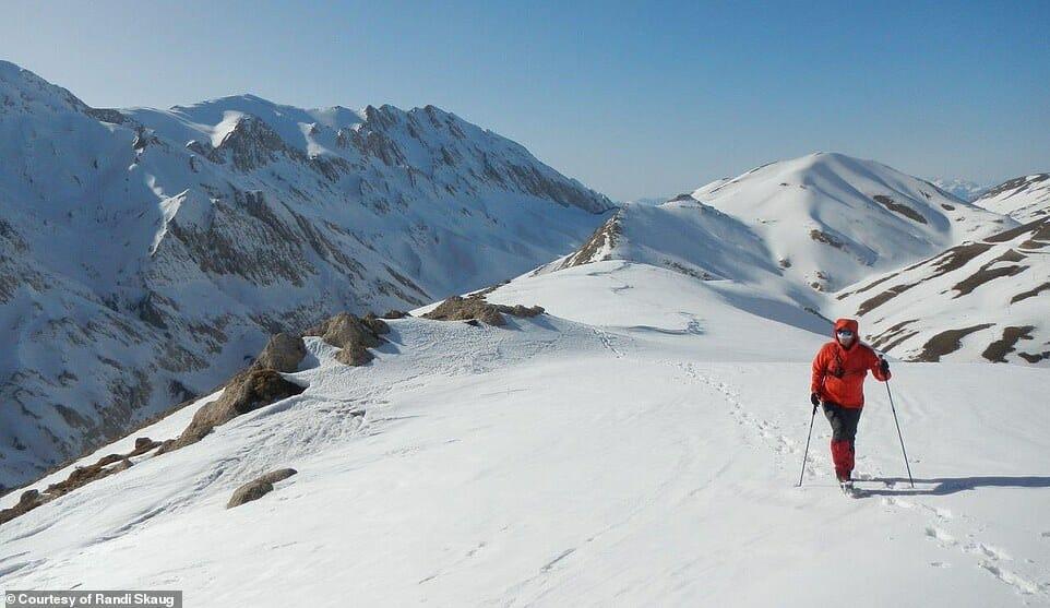 esquiadora desafio Irã 3