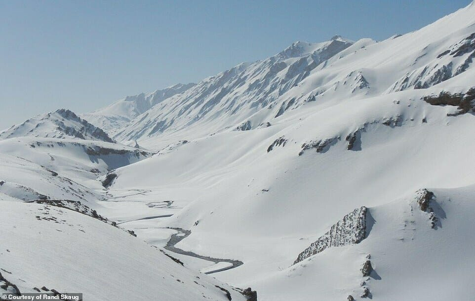 esquiadora desafio Irã 4