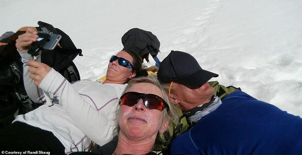 esquiadora desafio Irã 5