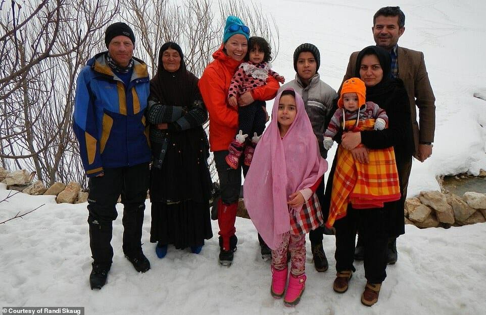 esquiadora desafio Irã 6
