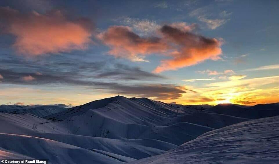 esquiadora desafio Irã 7