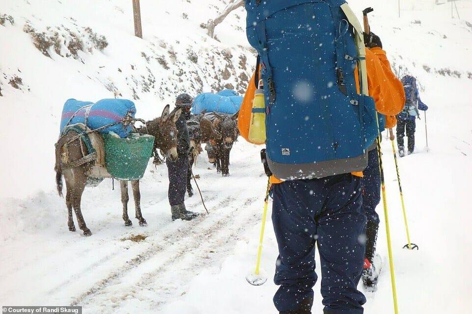 esquiadora desafio Irã 8