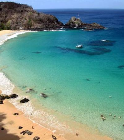 A praia brasileira eleita a melhor do mundo desbancando Aruba e Turks and Caicos