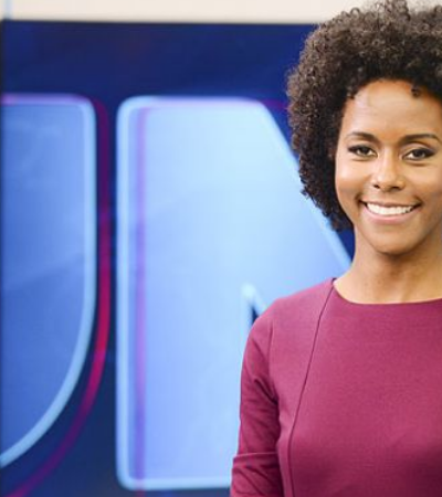 Maju Coutinho faz história como 1ª mulher negra apresentadora do Jornal Nacional