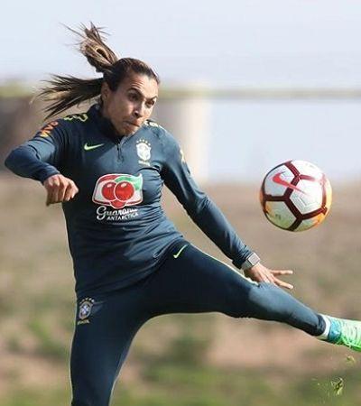 Marta entra na lista da Forbes de mulheres mais poderosas do Brasil
