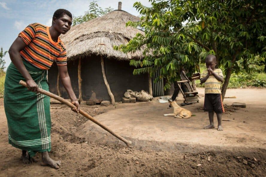 permacultura refugiados uganda 9