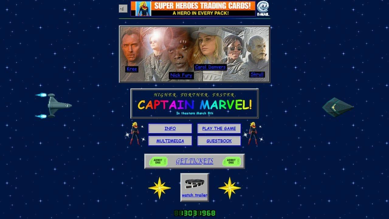 site capitã marvel 1