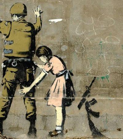 Capão Redondo pode ganhar obra de Banksy pelo melhor motivo