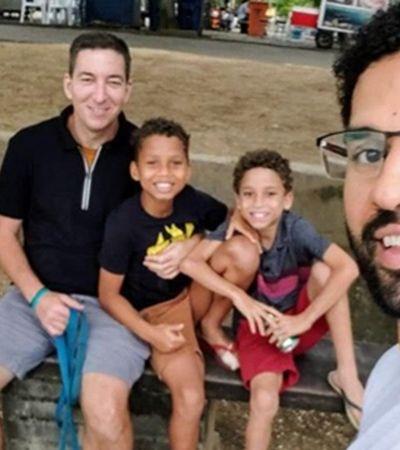 Único deputado LGBT, David Miranda comemora adoção de filhos