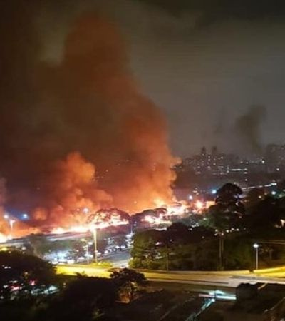 'Vagabundos!': motoristas que comemoram incêndio em favela expõem pior face do ser humano