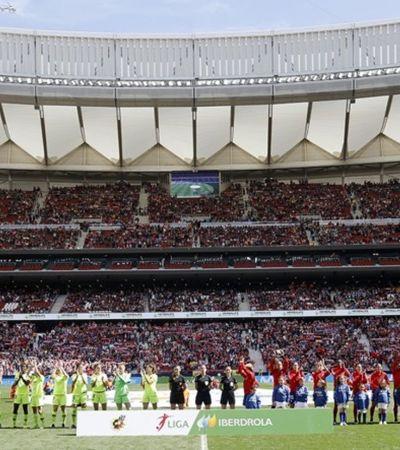 Vitória do Barcelona rendeu recorde mundial de público para o futebol feminino