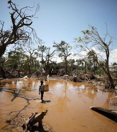 Por que o ciclone de Moçambique não despertou a comoção da imprensa internacional?
