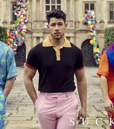 Jonas Brothers chamam companheiras para vídeo clipe de retorno da banda