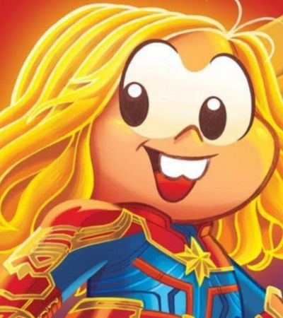 Mônica ganha versão Capitã Marvel para inspirar meninas a voos mais altos