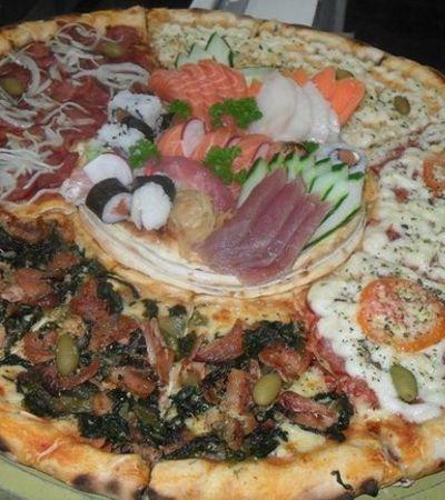 Famosa pelas criações bizarras e gigantes, Pizzaria Batepapo abre vaga de trabalho