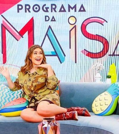 """Maisa estreia no SBT debatendo bullying e bate recordes na internet """"Lugar de mulher é mudando o mundo"""""""