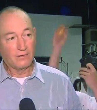 Senador que culpou os muçulmanos pelos atentados na NZ leva ovada de adolescente