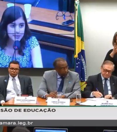 'É um PPT, ministro': Deputada de 25 anos expõe despreparo do Ministério da Educação