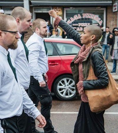 10 fotos de manas invocadas resistindo nas ruas por seus direitos