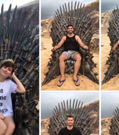 Caça ao tesouro: trono de ferro de GOT é encontrado em praia do Ceará