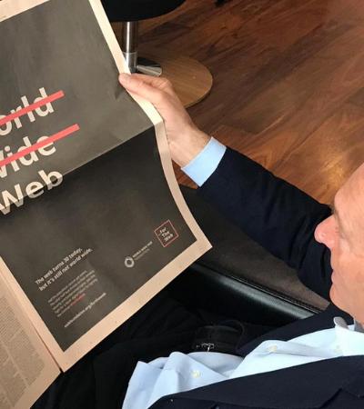 No aniversário de 30 anos de sua criação, inventor da internet alerta para desinformação