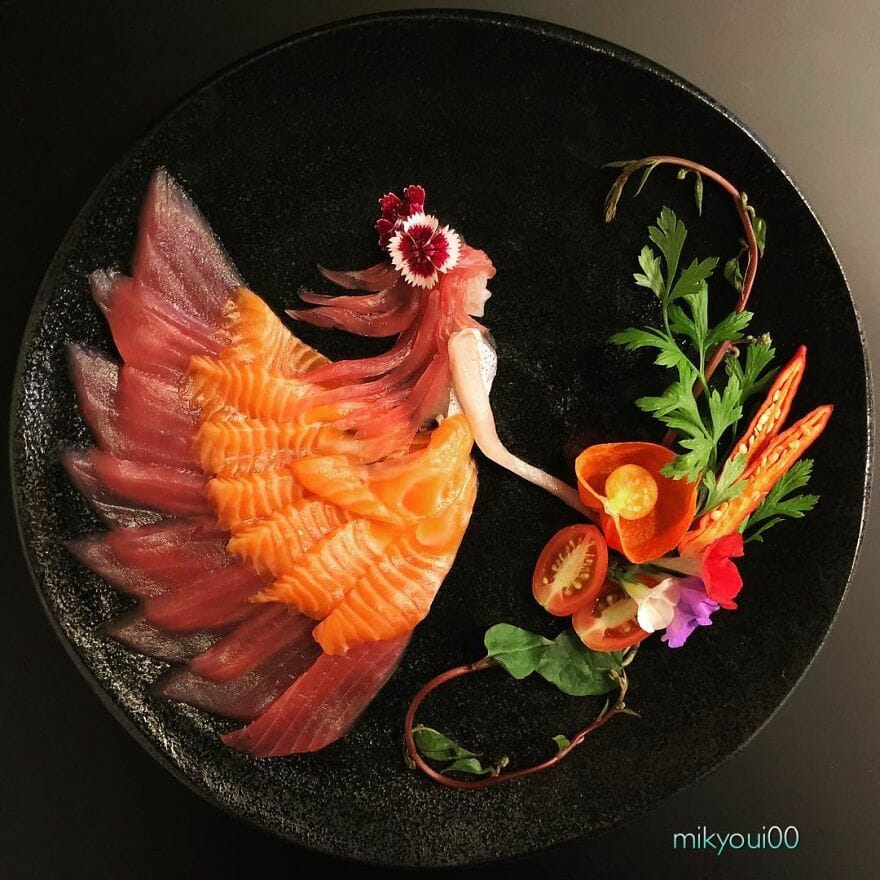 arte com sushi 1
