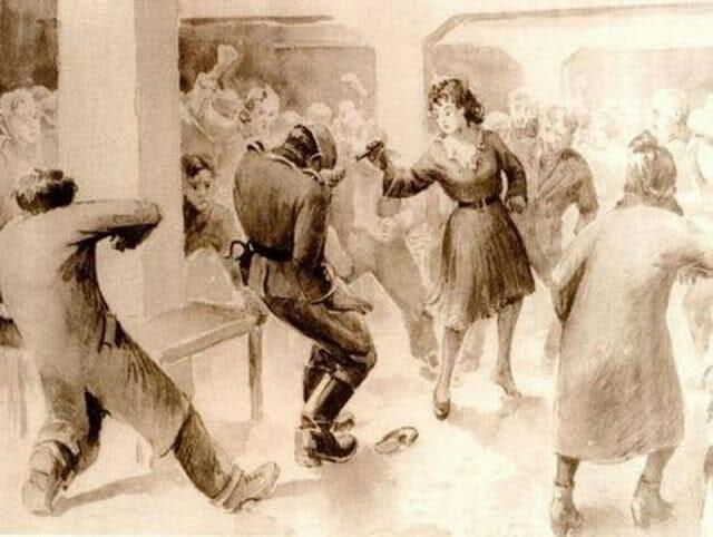 bailarina matou nazista 1