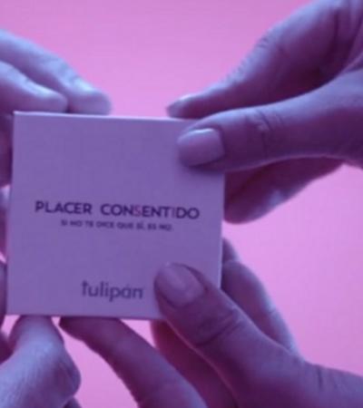 Embalagem de camisinha que só pode ser aberta a dois alerta sobre sexo consensual
