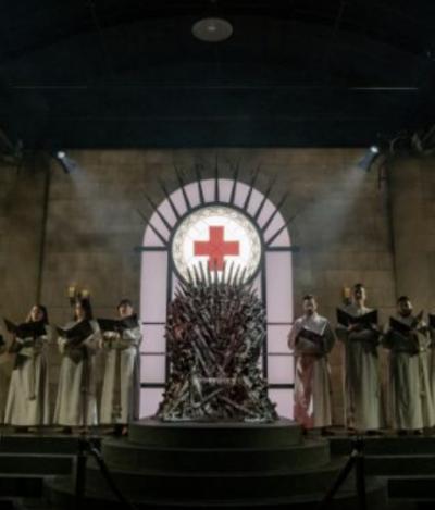 Entramos no reino de 'Game Of Thrones' onde quem doa sangue merece o trono