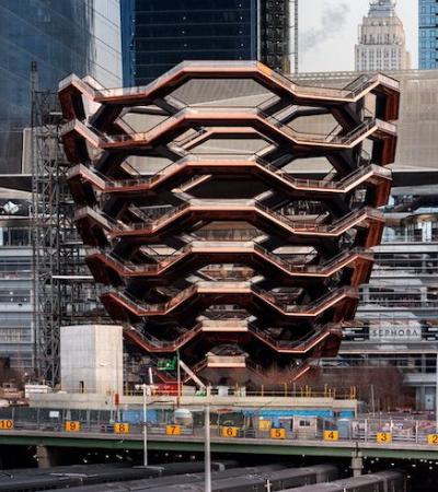 Nova pérola da arquitetura de NY, colmeia gigante é aberta para visitas de graça