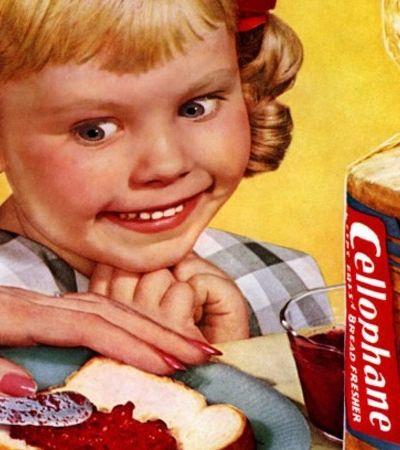 Crianças demoníacas das propagandas dos anos 1950