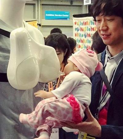 Japoneses criam dispositivo que permite que homens amamentem