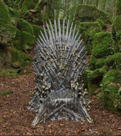 Caça ao tesouro: HBO espalha 6 tronos de ferro pelo mundo e desafia fãs de GOT a encontrá-los