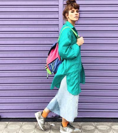 A moda com afeto e colorida da personal stylist LaláCunha