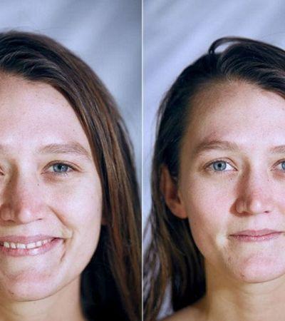 Consegue adivinhar em quais desses retratos as pessoas estão nuas só pela expressão?