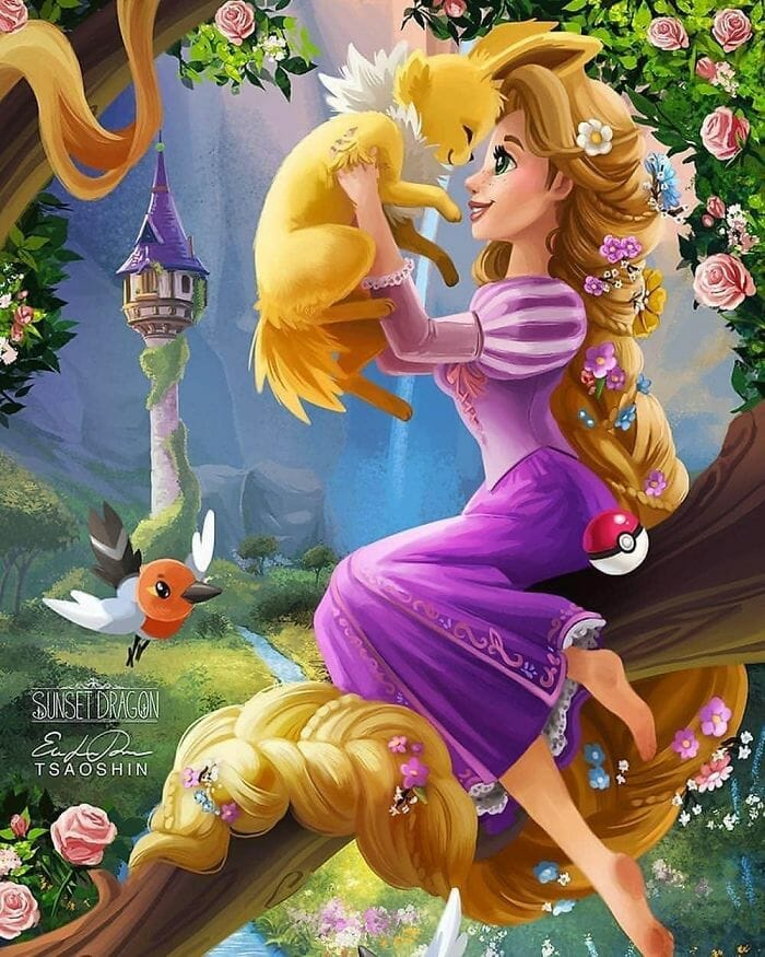 princesas disney pets 1