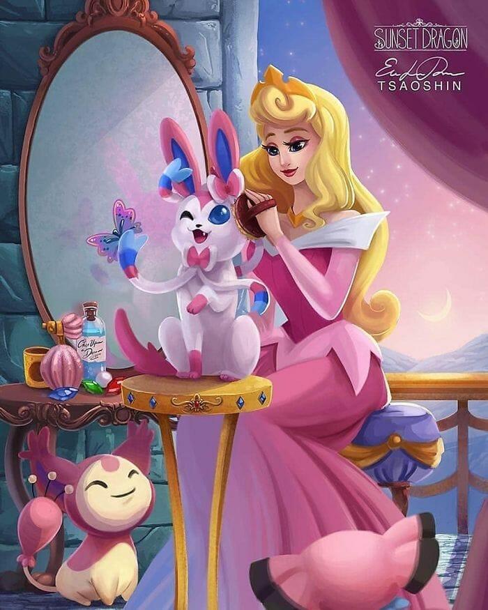 princesas disney pets 4
