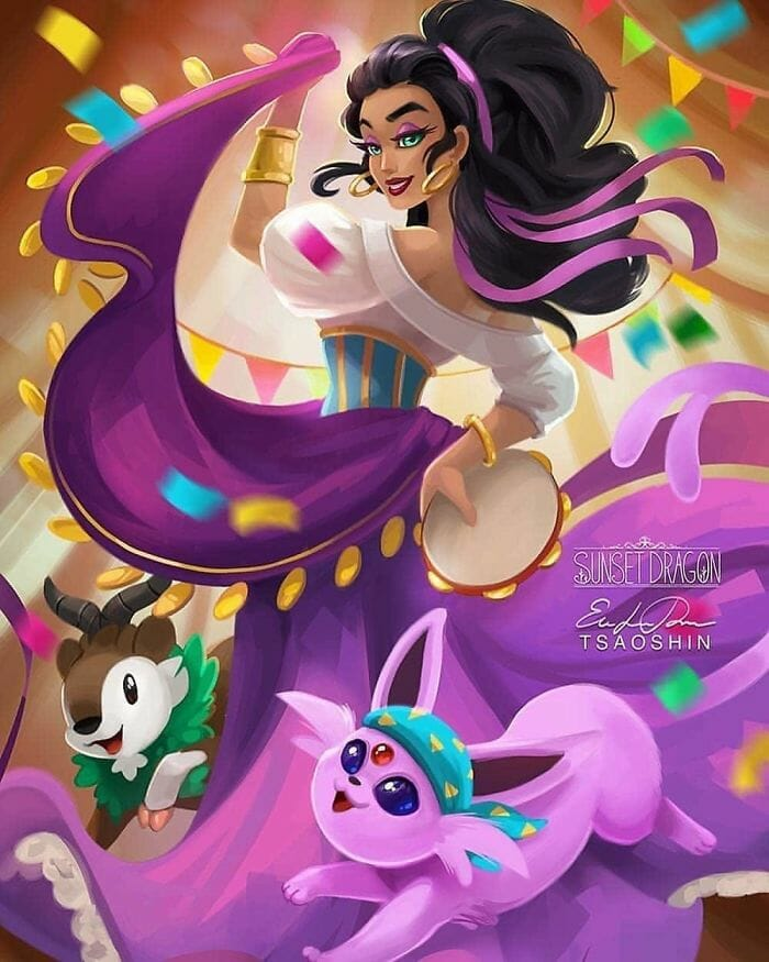 princesas disney pets 9