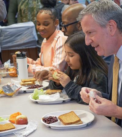 Todas as escolas públicas de Nova York aderem à Segunda Sem Carne