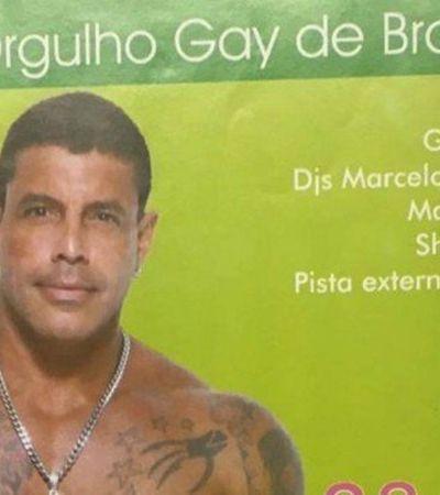 Empresa pede bloqueio de salário de Alexandre Frota por calote em boate gay