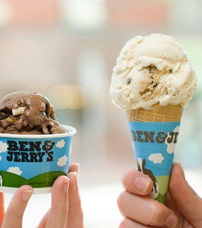 Hoje é dia de Ben & Jerry's de graça. E você pode pegar o quanto quiser