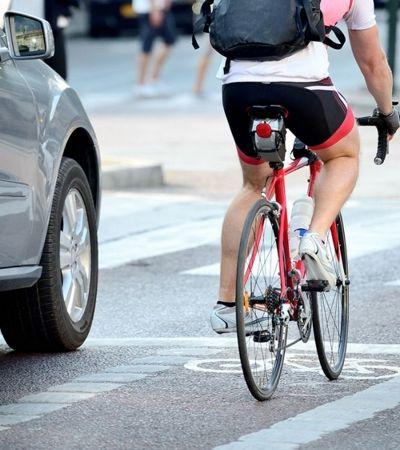 Metade dos motoristas acredita que ciclistas 'não são totalmente humanos'