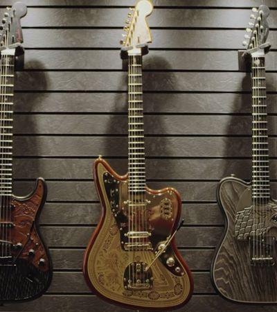 Fender lança incrível linha de guitarras inspiradas em 'Game Of Thrones'
