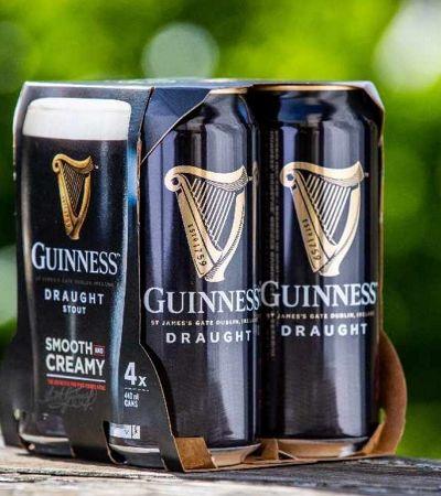 Cervejaria Guinness vai abandonar 100% do plástico e trocá-lo por materiais biodegradáveis